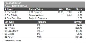 Delta Downs Race#2