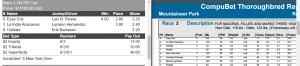 Mountaineer Park Race #3 071816
